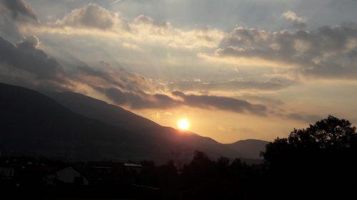 Alpenglühen – wie im Märchen